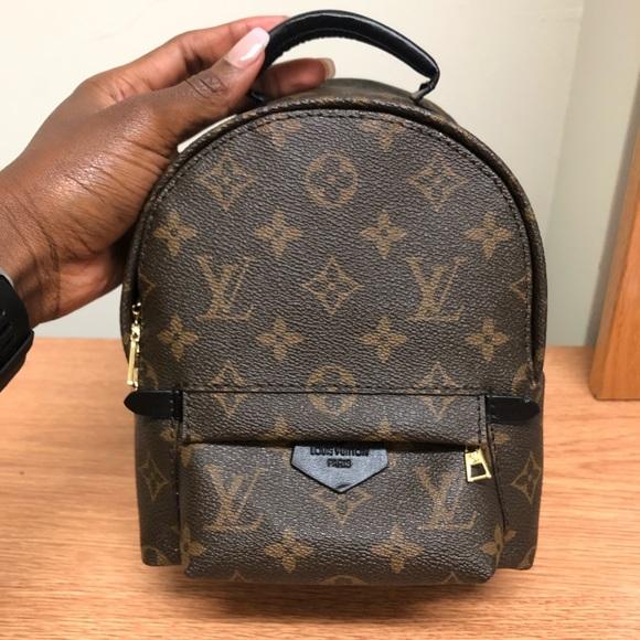 Handbags - Mini palm backpack